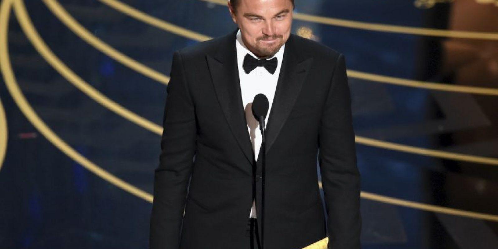 Pero fue hasta el final de la ceremonia… Foto:Getty Images