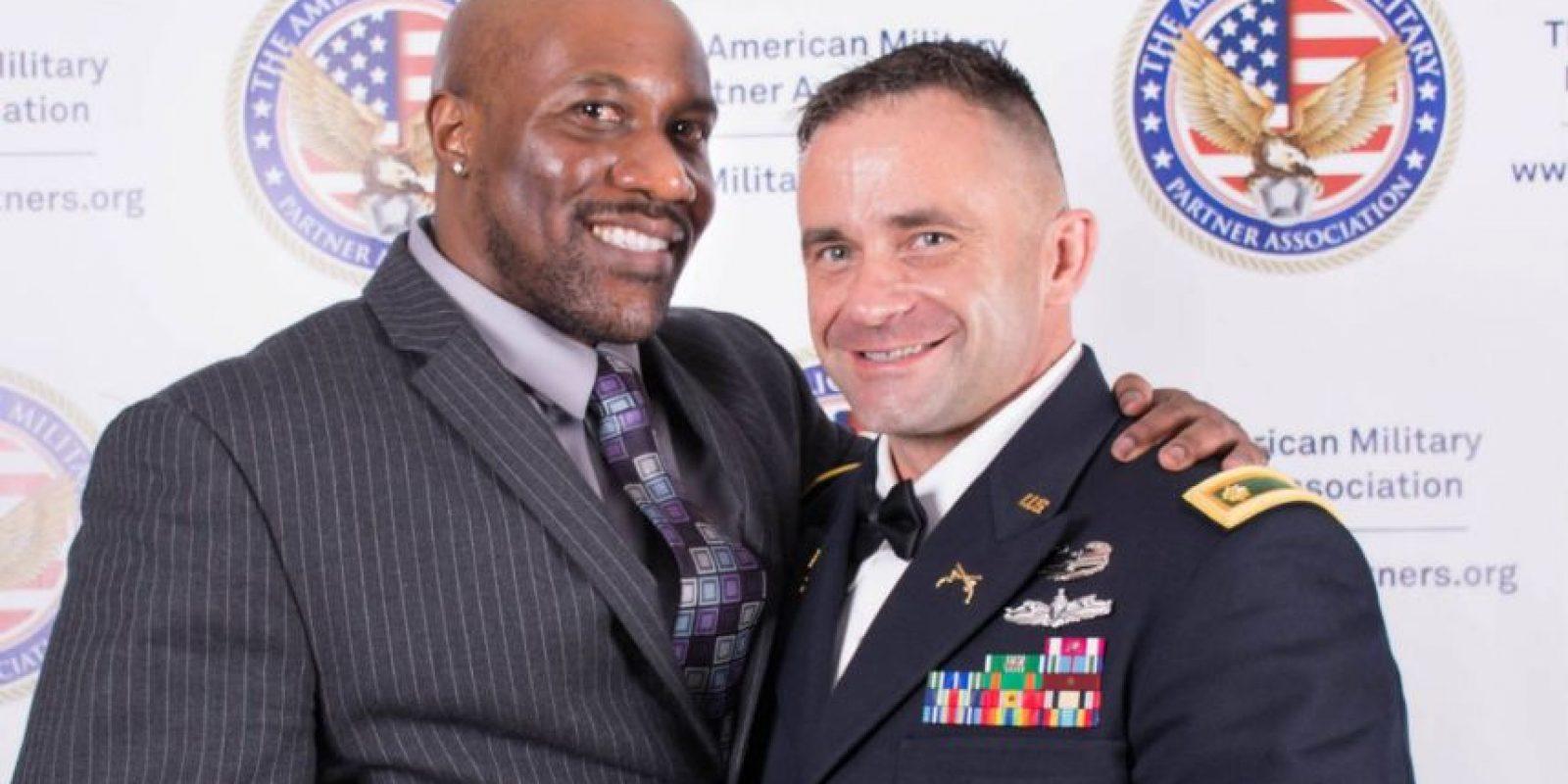 También cuentan con una pagina en Facebook Foto:Facebook/The American Military Partner Association