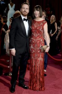 Michael Fassbender y su madre Adele Fassbender Foto:Getty Images