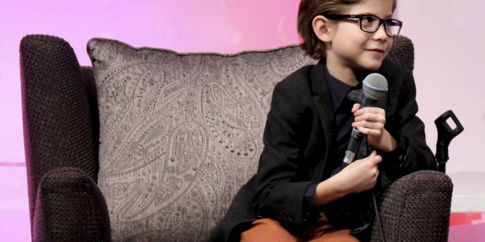 """A sus 9 años ya cuenta con el premio de la Critica Cinematográfica a """"mejor intérprete joven"""" Foto:Getty Images"""