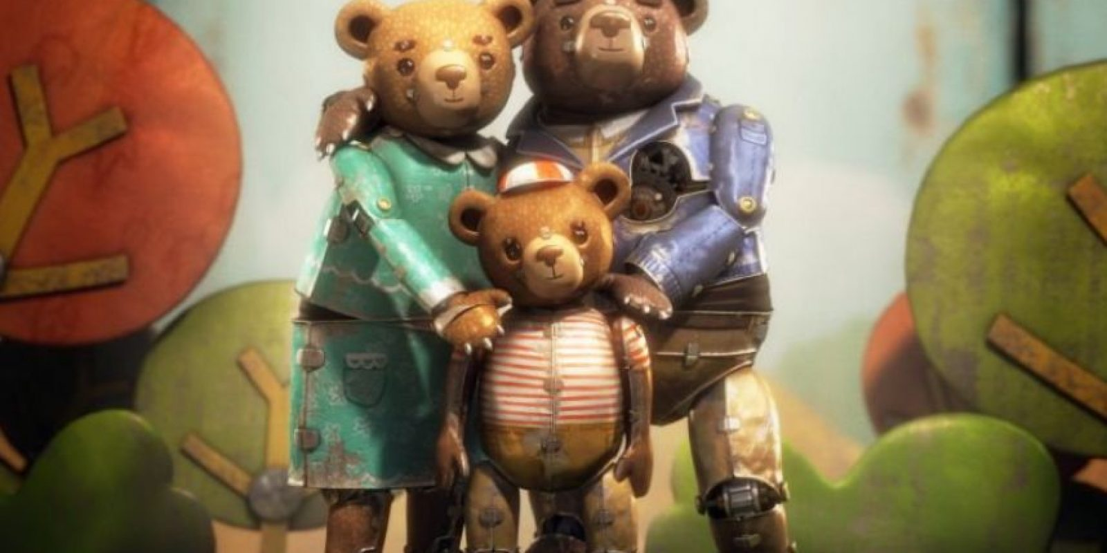"""""""Bear Story"""" se llevan el Oscar al 'Mejor Corto Animado' Foto:Twitter"""