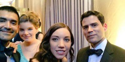 """Los chilenos Gabriel Osorio y Pato Escala creadores de corto galardonado """"Bear Stoty"""" Foto:Twitter"""