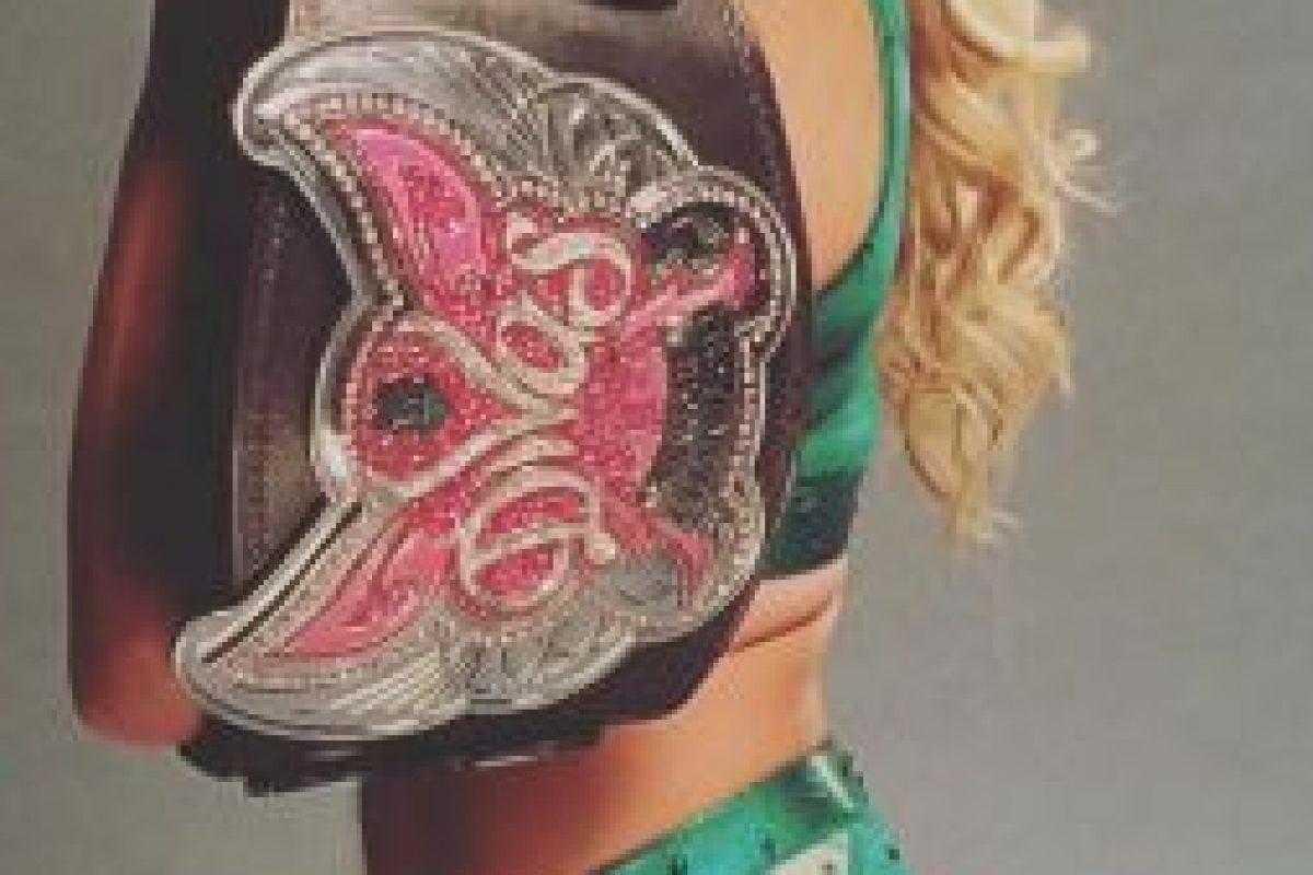 Charlotte, la actual monarca Foto:WWE