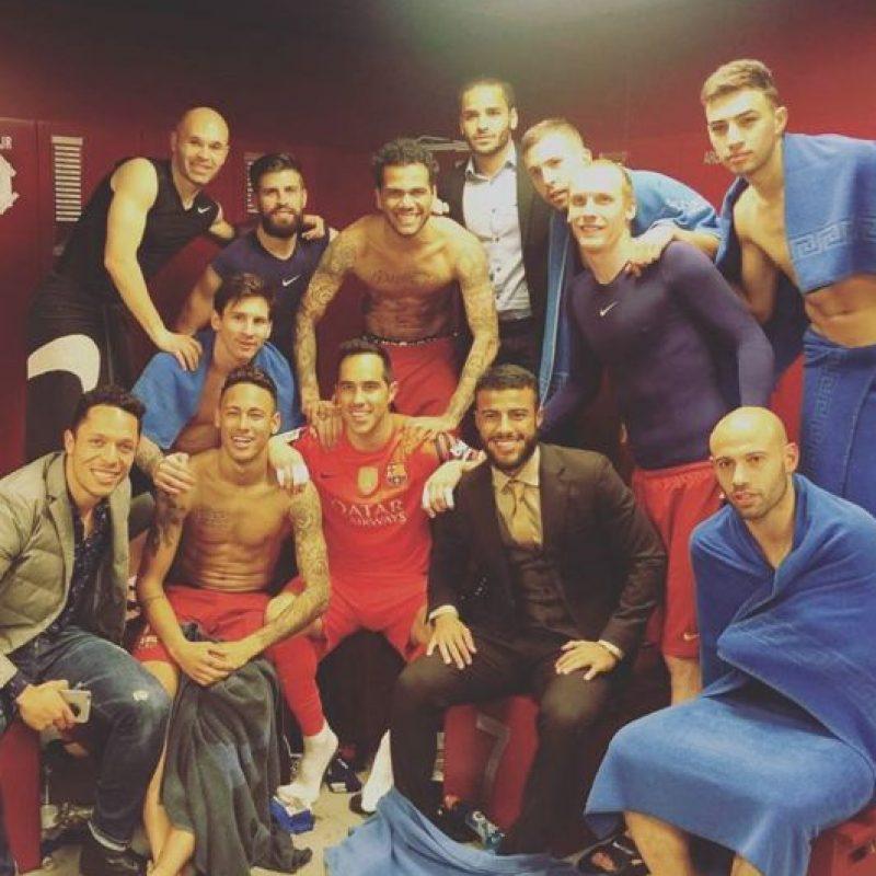 Esta es la imagen que compartió el portero chileno que parece tener un mensaje oculto para Cristiano Ronaldo Foto:Vía instagram.com/claudiobravo1