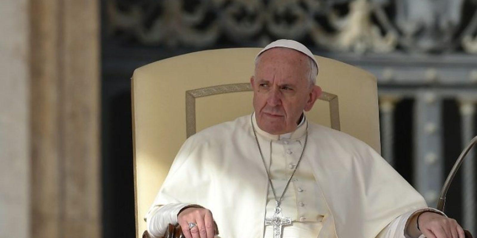 El papa Francisco durante una misa en El Vaticano. Foto:AFP