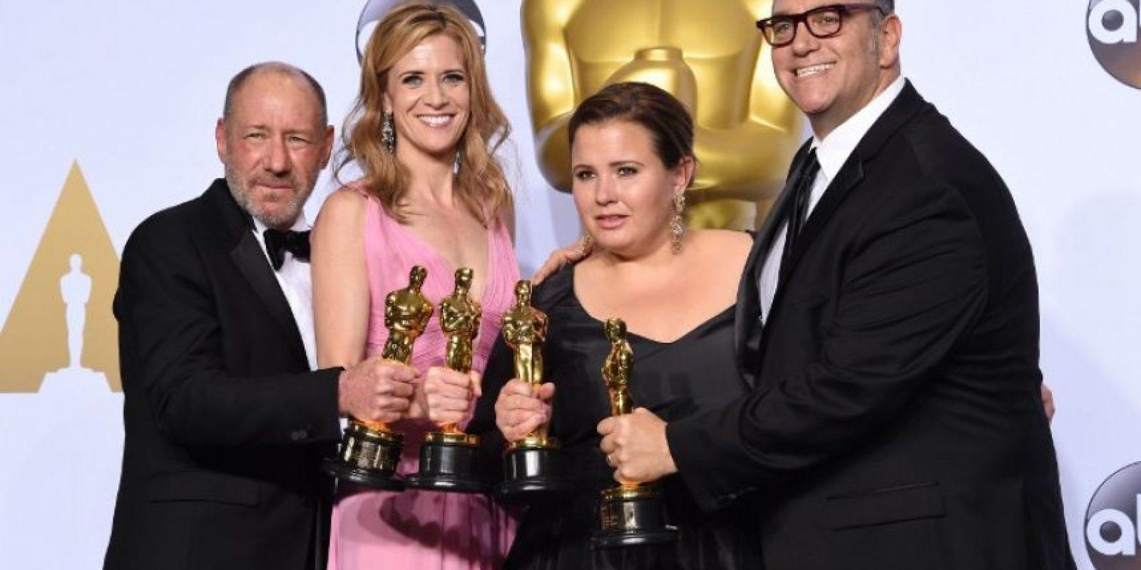 La cinta Spotlight fue la ganadora del Oscar a mejor película. Foto:AFP