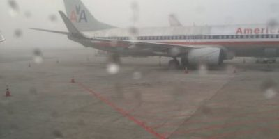Vuelos suspendidos en Aeropuerto La Aurora por niebla, hoy 29 de febrero de 2016