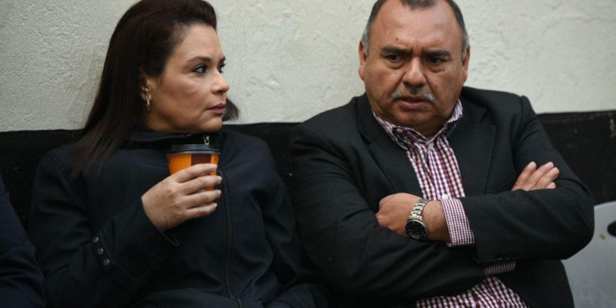 Inicia audiencia de primera declaración de Baldetti e implicados por el Caso de Amatitlán