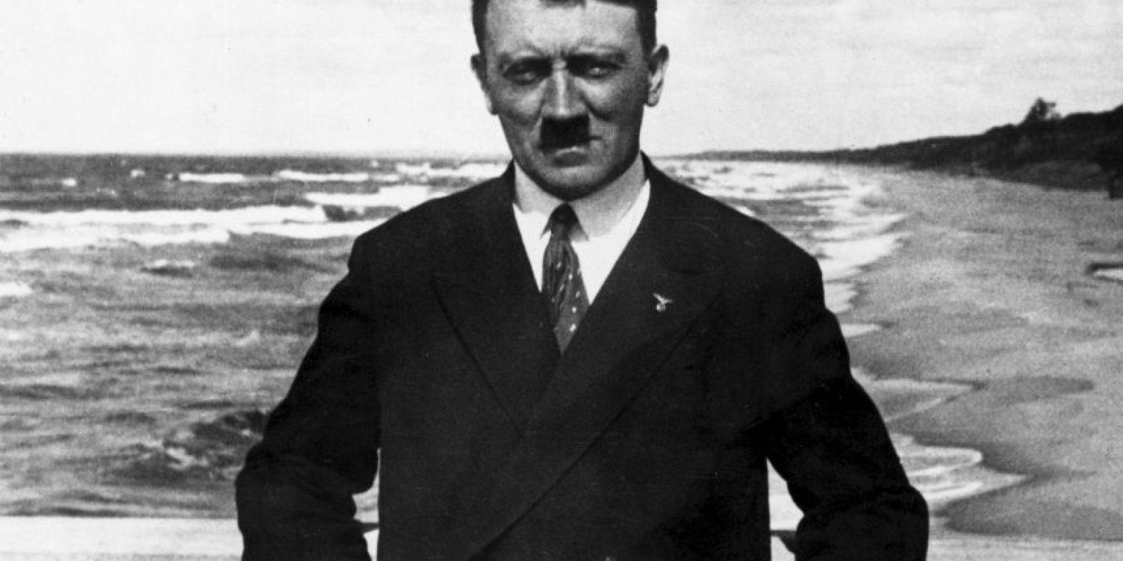 Adolf Hitler, fue el líder (Führer) y canciller de Alemania entre 1933 y 1945. Foto:Getty Images