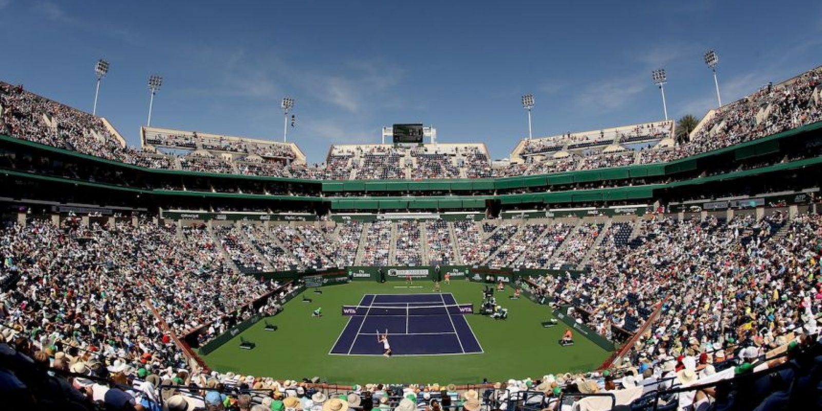 7 – 20 de marzo: Indian Wells Masters de tenis Foto: Getty Images