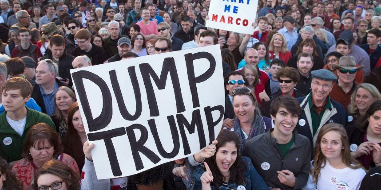 Entre sus rivales están Ted Cruz, Rand Paul y Ben Carson. Foto:Getty Images