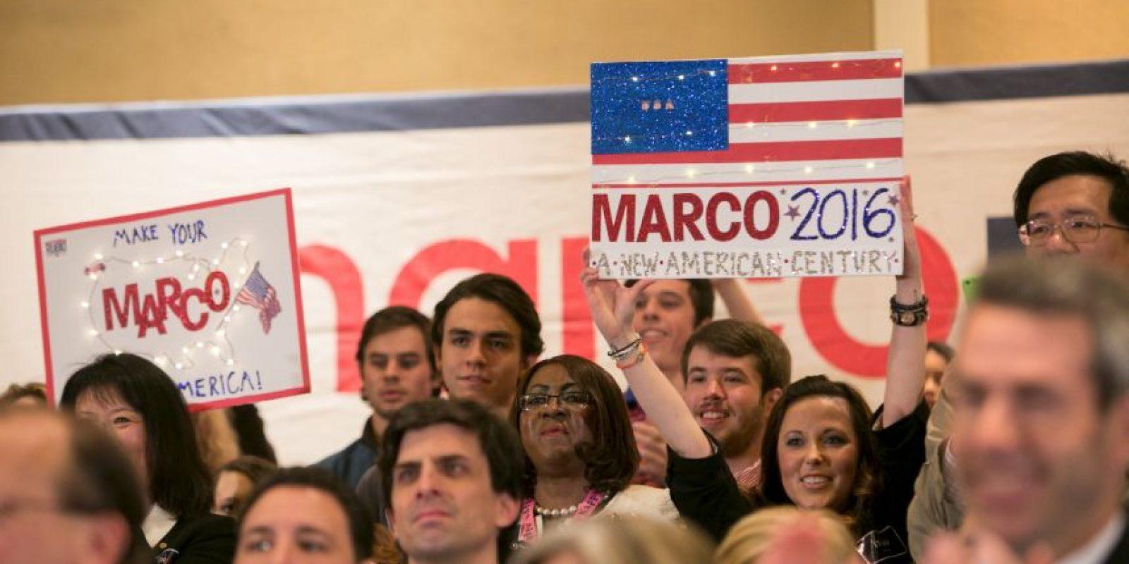 A sus 44 años es uno de los precandidatos más jóvenes del partido. Foto:Getty Images