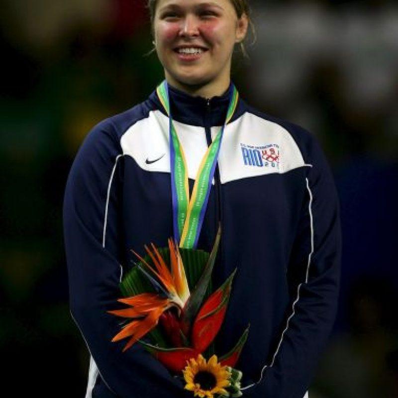 La historia de Ronda Rousey en las artes marciales comenzó hace muchos años. Foto:Getty Images