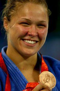 En esta cita se colgó la medalla de bronce. Foto:Getty Images