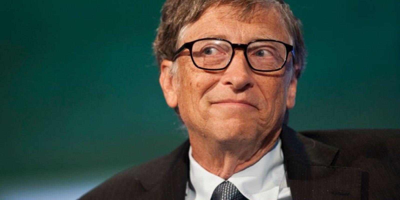 Bill Gates fue nombrado el hombre más millonario del mundo por Forbes en 2016. Foto:Twitter