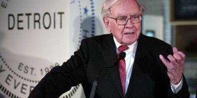 Warren Buffett fue nombrado el tercer hombre más millonario del mundo por Forbes. Foto:AFP
