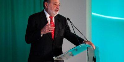 Carlos Slim fue nombrado el cuarto hombre más millonario del mundo por Forbes. Foto:AFP