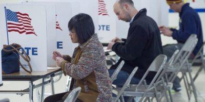 """Miles de estadounidenses votarán en la jornada del """"Supermartes"""". Foto:AFP"""