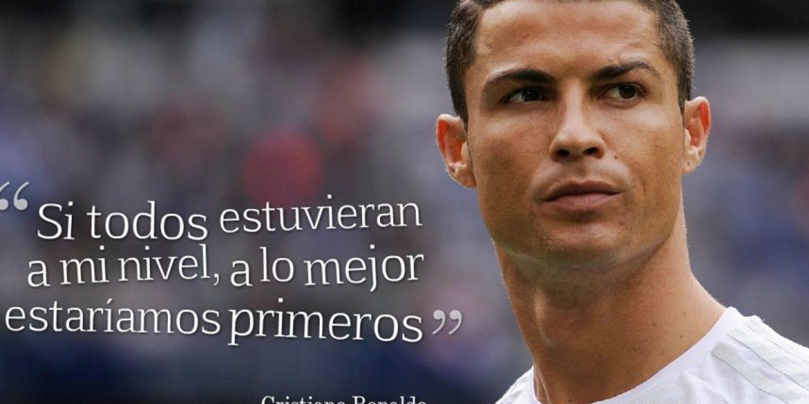 """8. Es la última """"joya"""" de Cristiano Ronaldo. El portugués se quejó así de sus compañeros tras perder el derby de Madrid ante el Atlético el pasado fin de semana. Foto:Getty Images"""