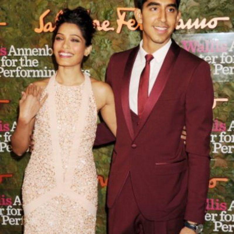 """Terminó con ella. Participó en el """"Exótico Hotel Marigold"""". Foto:vía Getty Images"""