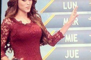 A sus 19 años ya era una de las bellezas del canal de televisión Televisa Monterrey. Foto:vía Facebook