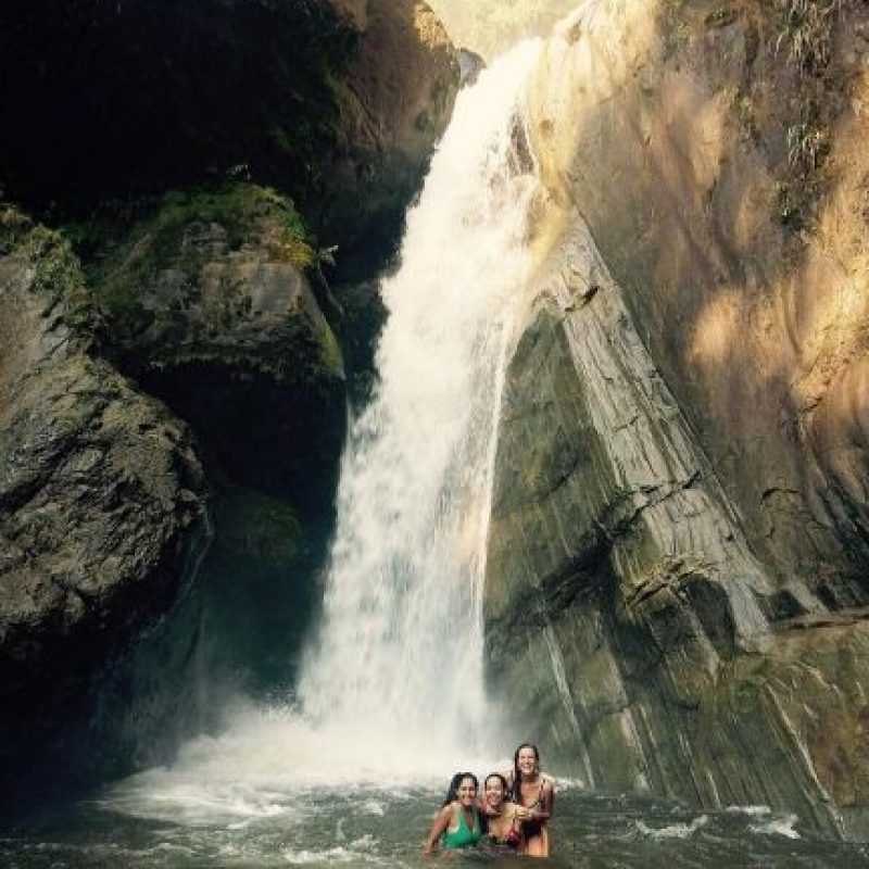 Agostina Cano y Sofía Sarmiento. Foto:instagram.com/marina.menegazzo/