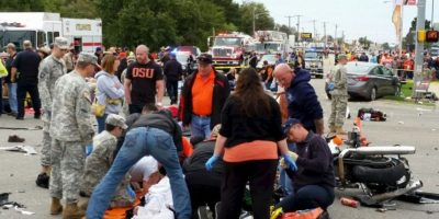 Dejó tres personas muertas y otras 22 heridas. Foto:AP