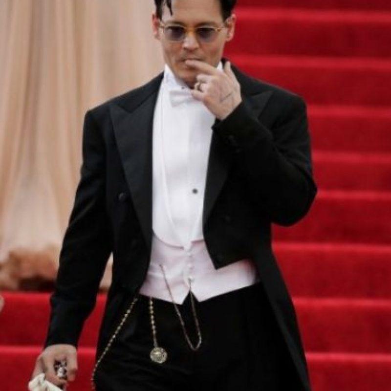 Johnny Depp: el actor, de 50 asños, le tiene miedo a los payasos. A esta fobia se le denomina Coulrofobia. Foto:Getty Images