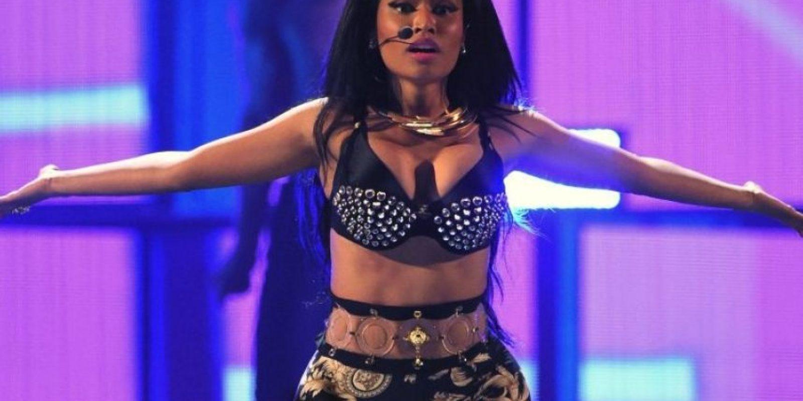 Nicki Minaj: la cantante se rehúsa a tomar escaleras eléctricas Foto:Getty Images