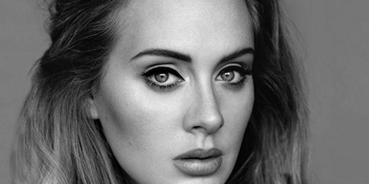 Esta es la polémica foto de Adele que está causando