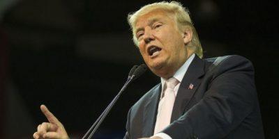 El candidato republicano, Donald Trump, durante un discurso en Estados Unidos. Foto:AFP