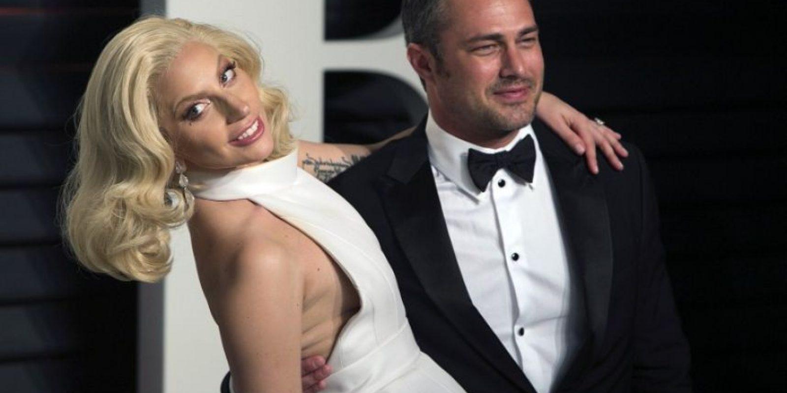 Lady Gaga y Taylor Kinney Foto:AFP