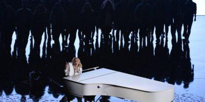 Lady Gaga en los Oscar Foto:AFP