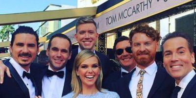 """#Oscars Por """"tener"""" algo muy íntimo, el vestido de esta presentadora fue el más comentado"""