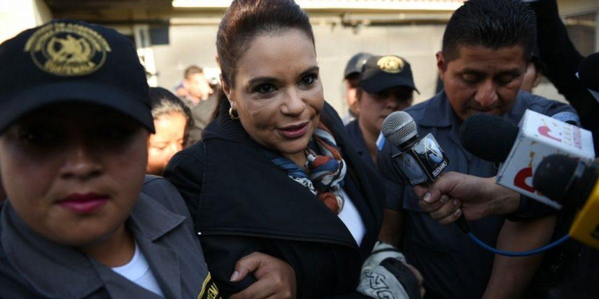 Continúa segundo día de audiencia de primera declaración de Roxana Baldetti