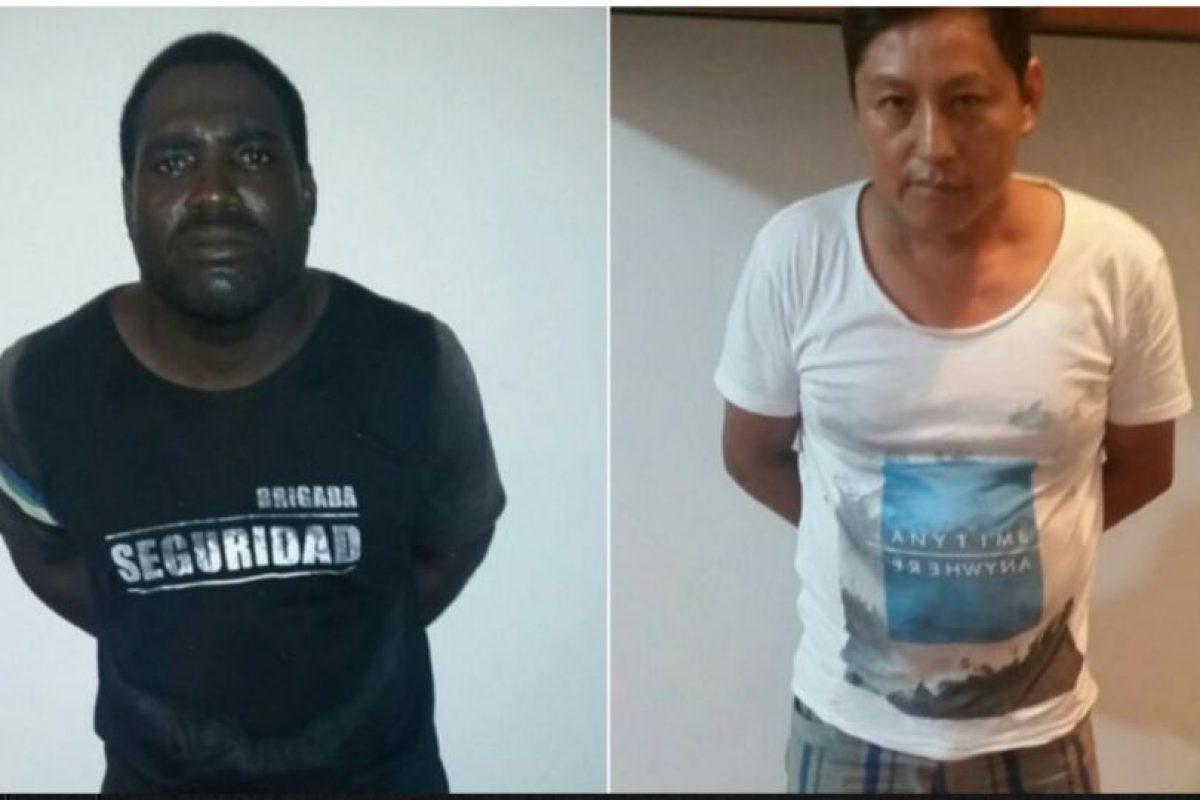 Además de una foto de los dos presuntos asesinos Foto:Twitter.com/ppsesa
