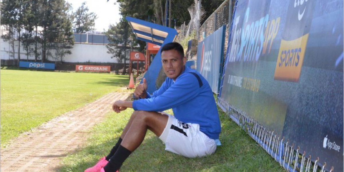 Gerson Tinoco jugará su sexto partido con la Selección Nacional ante El Salvador