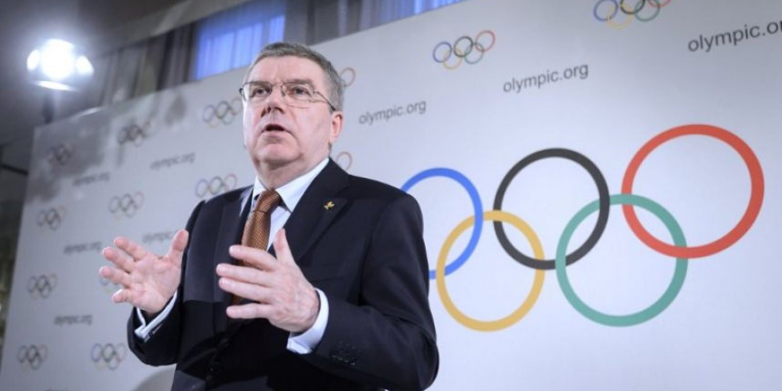 Thomas Bach, presidente del Comité Olímpico Internacional (COI). Foto:AFP