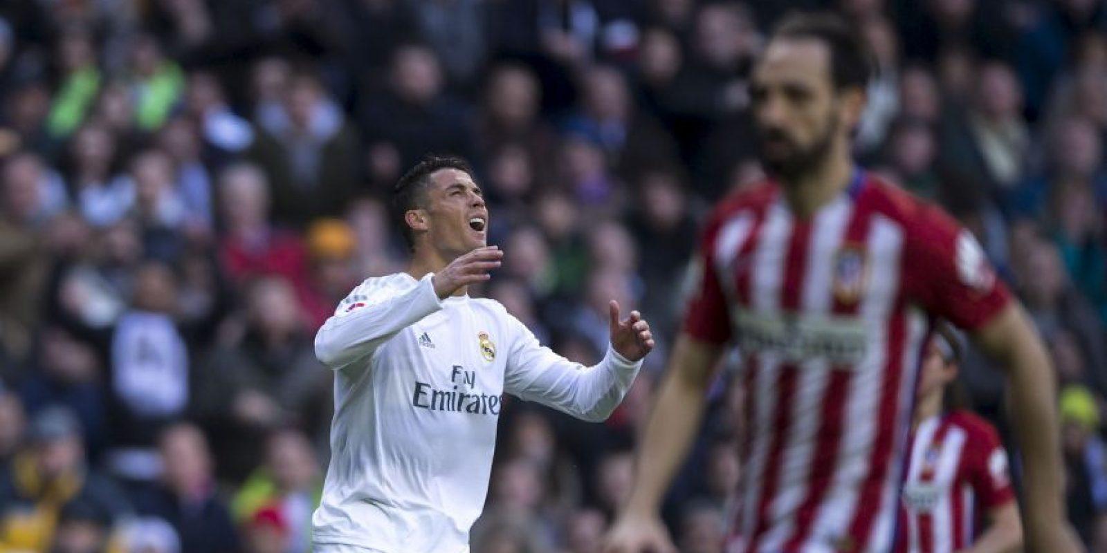 Cristiano Ronaldo no la pasa bien dentro y fuera de la cancha Foto:Getty Images