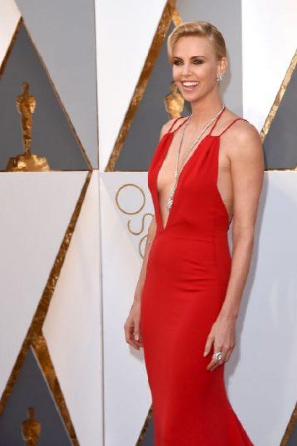 Su collar llamó mucho la atención. Foto:Getty Images