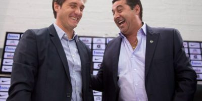 Presentan a Guillermo Barros Schelotto como técnico de Boca Juniors