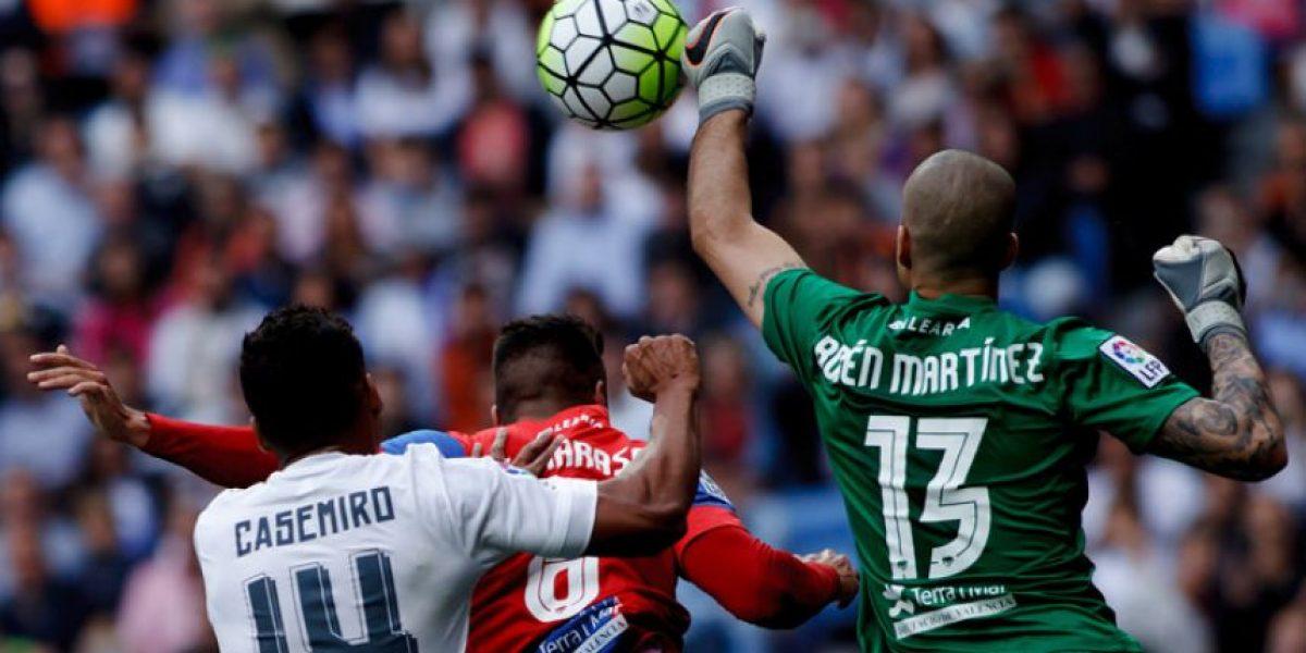Goles del partido Levante vs. Real Madrid, Liga Española 2016