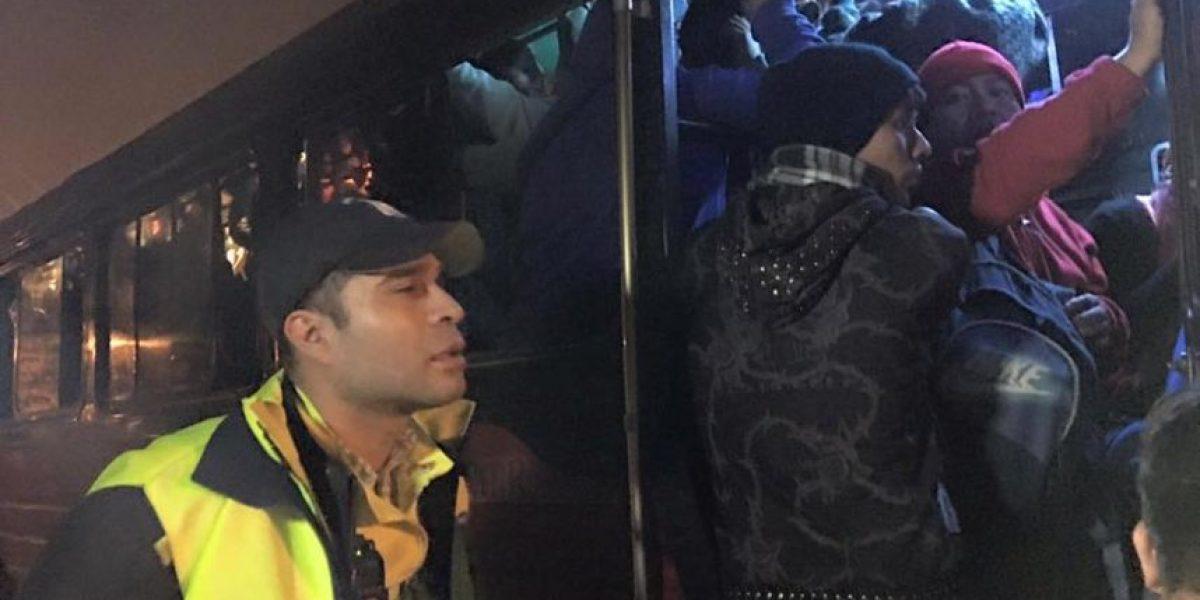 Alcalde Neto Bran verifica cobro de transporte en Mixco