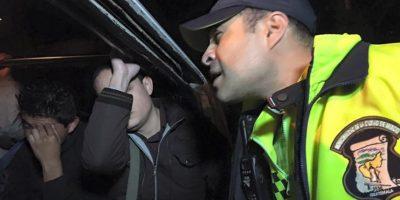 El alcalde Neto Bran participa en un operativo en una zona de Mixco. Foto:Facebook Neto Bran