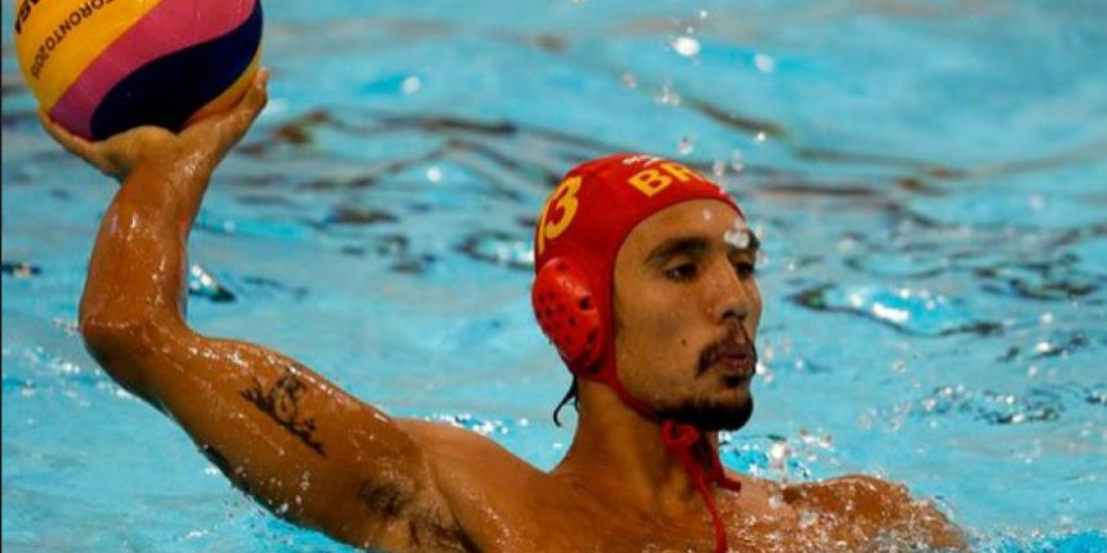 Thye Mattos Ventura Bezerra (jugador de waterpolo) Foto: Getty Images