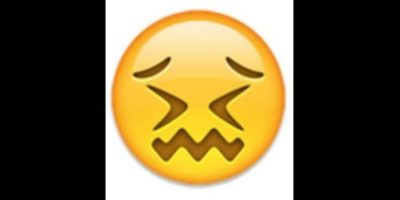 7. Parece que está a punto de llorar, pero solamente está aturdido. Foto:vía emojipedia.org
