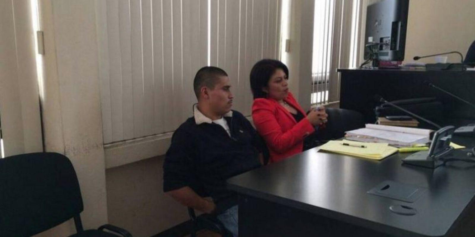 Antonio Santos en un juicio por el asesinato del chef Humberto. Foto:Cortesía