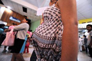 Embarazos en adolescentes y menores Foto:AFP