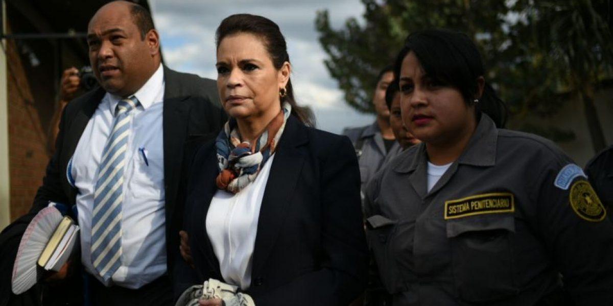 Baldetti se niega a declarar por fraude en caso Amatitlán