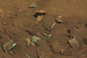Se descubrió en agosto de 2014 Foto:: http://mars.jpl.nasa.gov/msl-raw-images/msss/00719/mcam/0719MR0030550060402769E01_DXXX.jpg